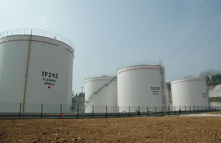 Cristal Union a décidé d'arrêter temporairement la production de bioéthanol à la distillerie d'Arcis-sur-Aube pour réorienter sa production vers de l'alcool éthylique. Photo : Pixel6TM