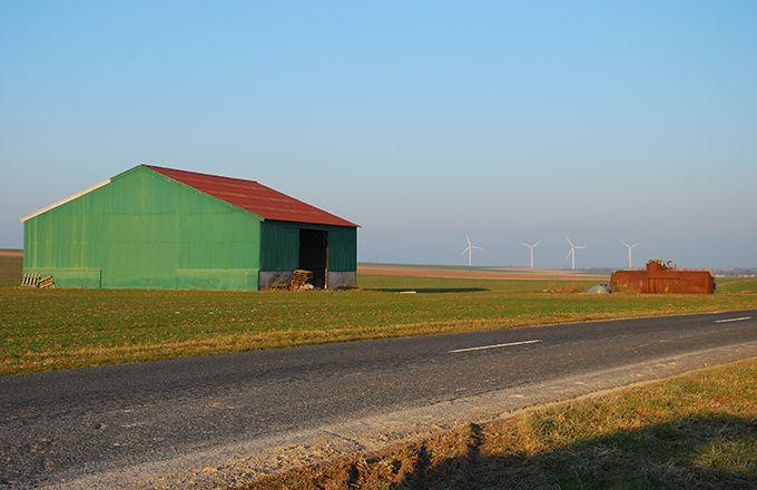L'endettement moyen de la ferme France est de 160000 euros. ©M. Lecourtier/Pixel image