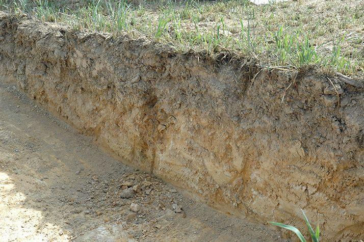 Avoir une bonne connaissance de son sol, c'est connaître l'horizon de surface et le sous-sol ! Photo : Pixel6TM