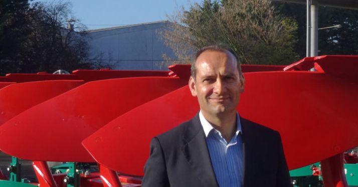 À compterdu 6 novembre 2017, c'est Franck Adam qui occupele poste de directeur général de Kverneland Group France. © Kverneland