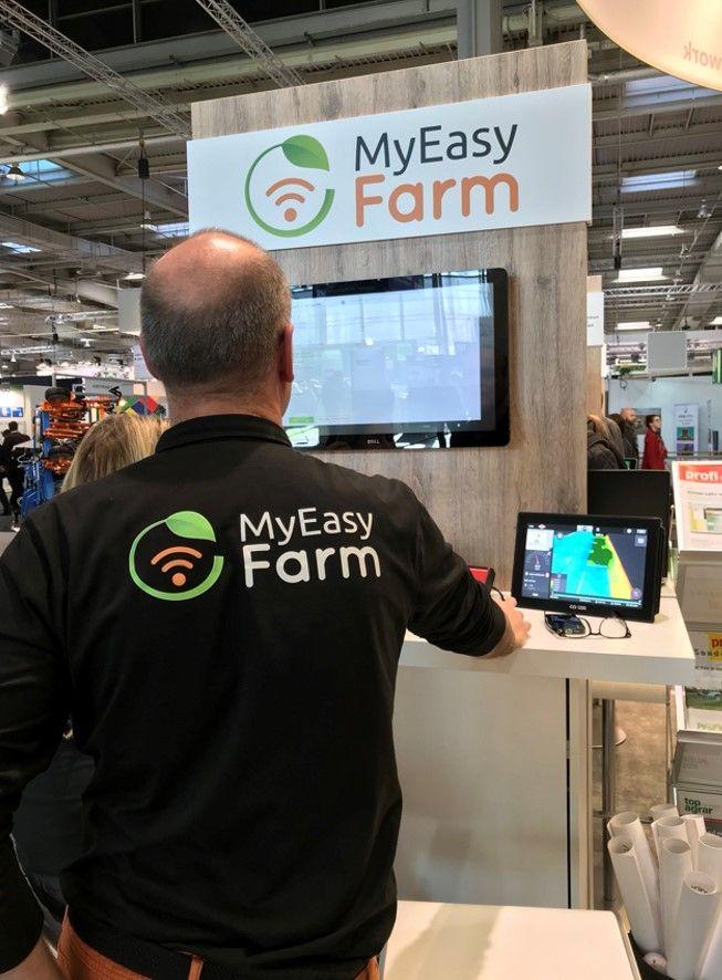 la plateforme MyEasyFarm est un outil indépendant des constructeurs, permettant à l'agriculteur d'optimiser la gestion des tâches sur son exploitation.