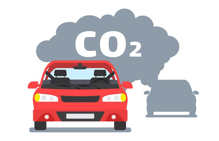 Si la moyenne de la flotte de véhicules vendue par un constructeur automobile dépasse 95 g/km d'émission de CO2, gare à l'amende salée. ©tarikdiz/Adobe Stock