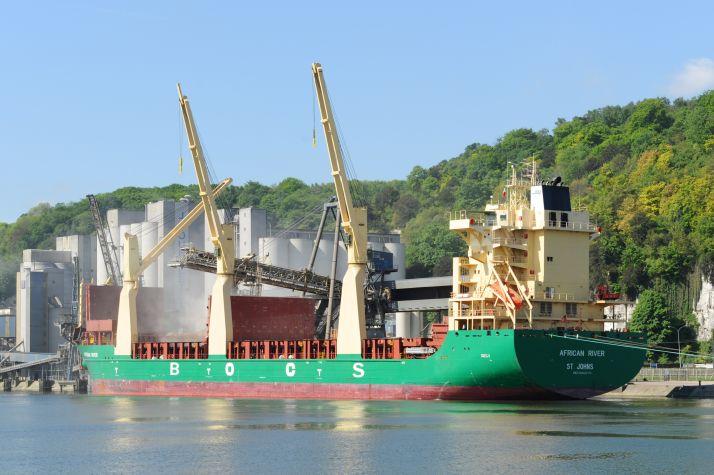 Exportations : campagne atypique pour la France, les autres origines en profitent. © Horapa-Port de Rouen