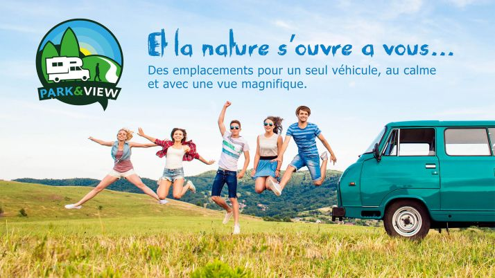 Park and View est une plateforme communautaire de location et de réservation d'emplacement pour les camping-cars. ©DR