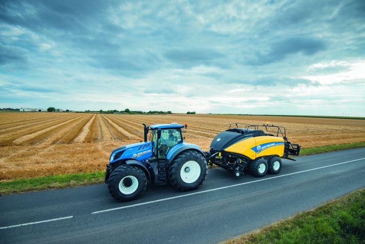 Des évolutions pour le BigBaler 1290 de New Holland. Photo: New Holland