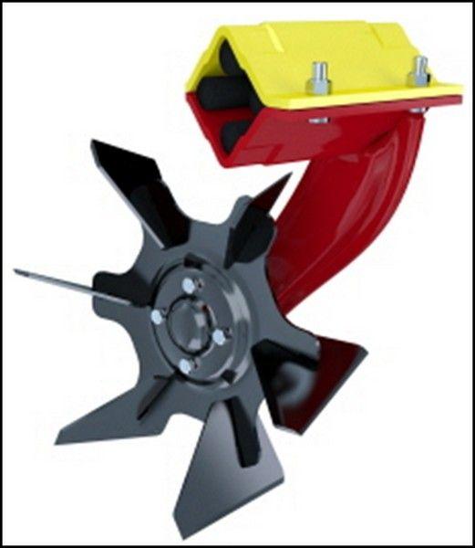 Le disque crosscutter est spécialement conçu pour réaliser un déchaumage superficiel.