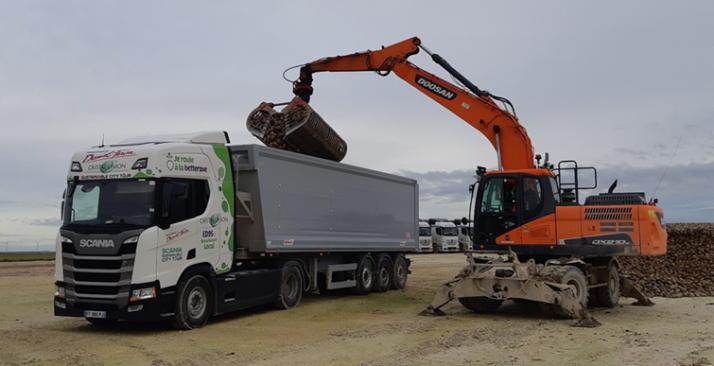 L'ED95 testé sur un camion lors de la campagne betteravière 2020. Crédit photo : Cristal Union