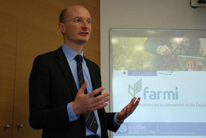Jean-François Huet, directeur des systèmes d'information du Groupe Soufflet
