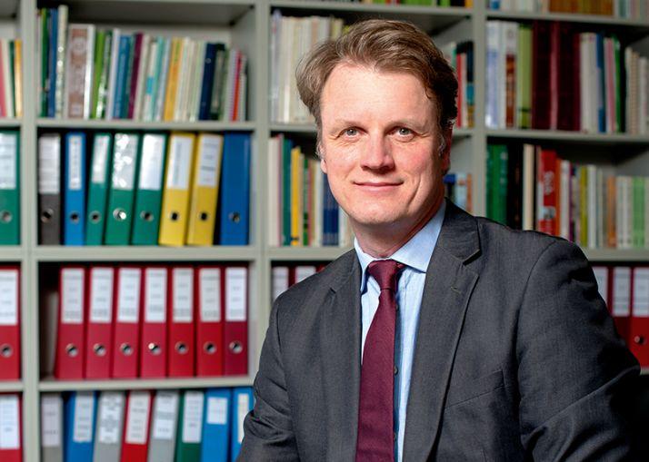 Michael Keller, secrétaire général de l'ISF.