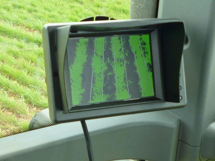 L'interface Précicam permet de visualiser en direct l'analyse réalisée par la caméra.