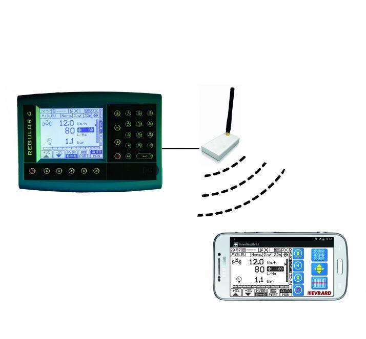 L'Evrard Scan App est disponible sur tablette et Smartphone. Photo: Hardi Evrard