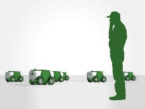 Bientôt des robots Fendt pour semer vos maïs ? Photo: Fendt