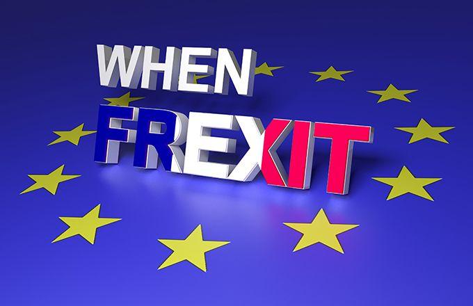 Fiction : un référendum approuve le Frexit. © Makaule/Fotolia