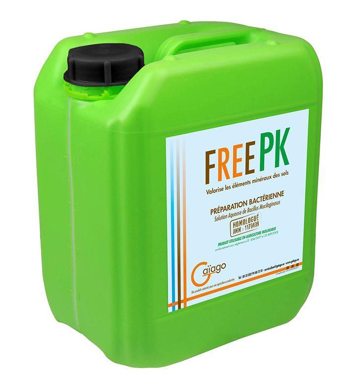 Free PK de Gaïago améliore la biodisponibilité de tous les minéraux du sol : oligoéléments, phosphore et potasse, grâce au Bacillus mucilaginosus. © Gaïago