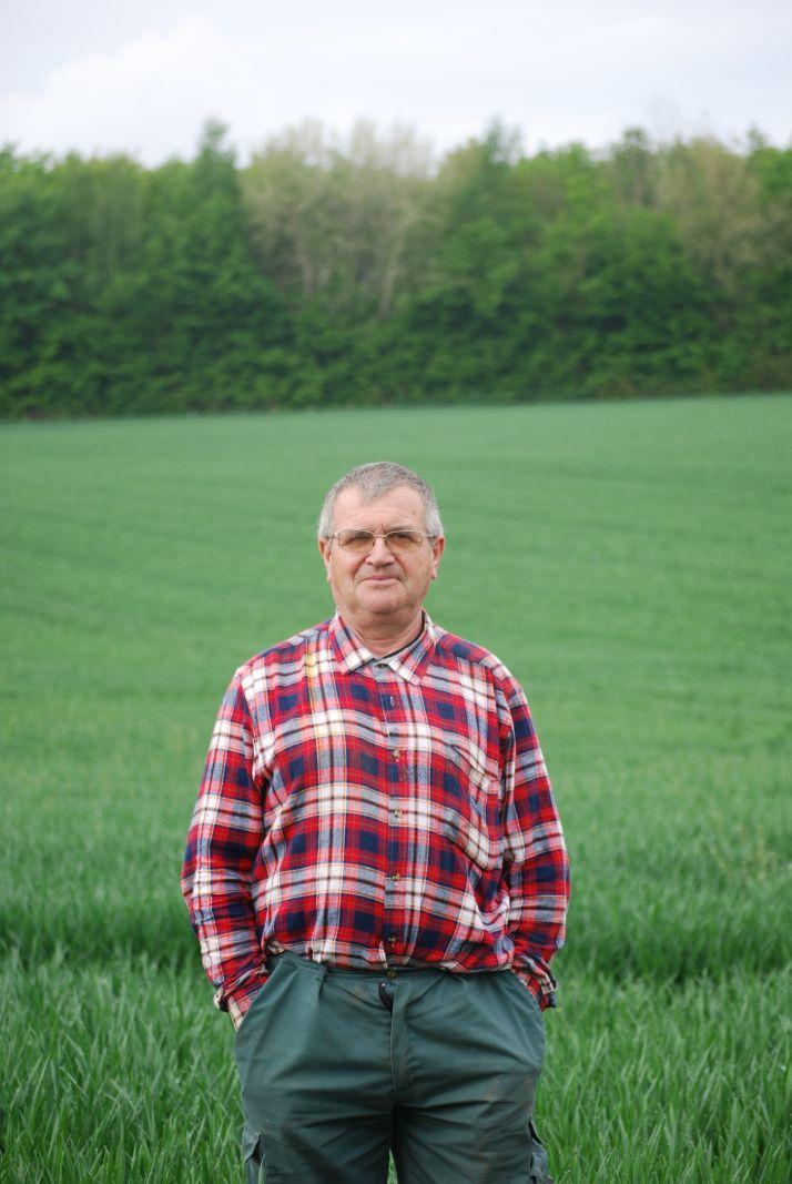explique Joel Guigue, l'un des trois associés de ce Gaec familial. Photo E.Thomas/Pixel Image