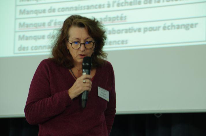 « Tout agriculteur qui le souhaite peut participer aux travaux scientifiques du projet européen Diversity » affirme Joëlle Fustec, directrice du Leva d'Angers.
