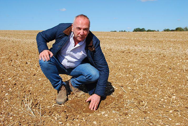 Jean-Paul Kihm exploite 17000 ha avec trois associés en Ukraine