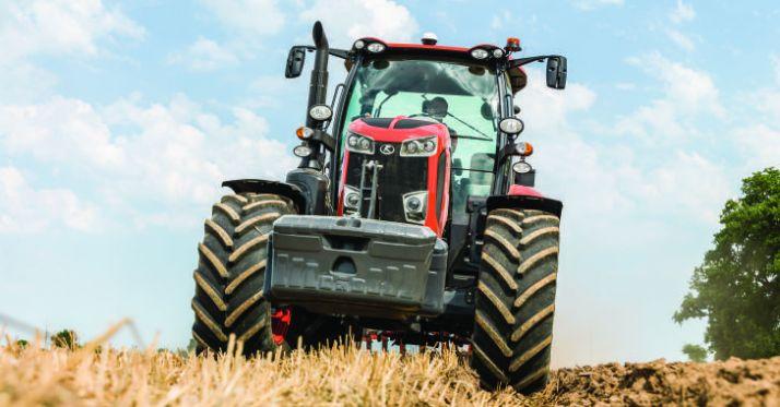 Les nouveaux Kubota M7002 de 130 à 170 ch remplacent la serie M7001. © Kubota
