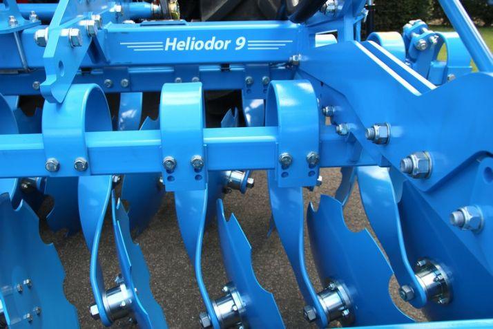 L'Heliodor de Lemken reçoit un lifting complet. Photo: Lemken