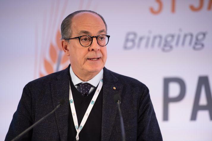 Paulo de Castro, parlementaire européen et ancien ministre de l'Agriculture en Italie. Crédit Paris Grain Day