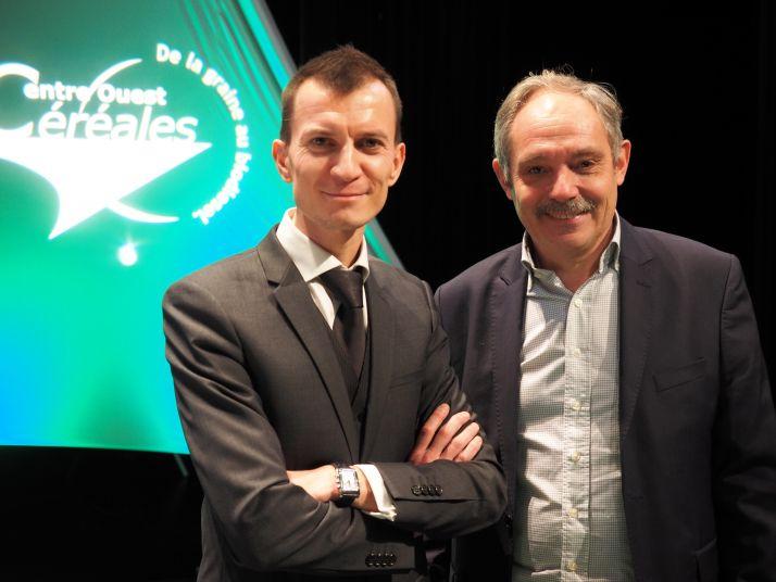 Sébastien Abis et Christophe Dequidt. © A.Lavoisier/Pixel Image