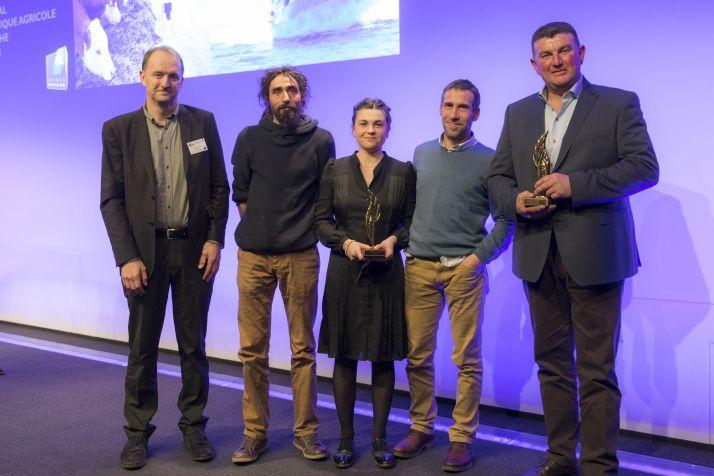 """À droite, Philippe Dilard, lauréat dans la catégorie """"initiative collective"""". ©Stevens Frémont"""