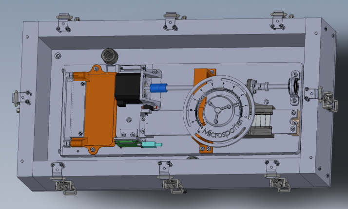 Prototype du boîtier Microspotter. Photo : Microspotter-ICAM