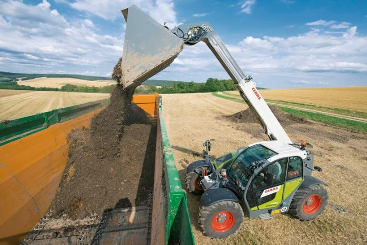 Davantage d'options sur le Scorpion de Claas. Photo: Claas