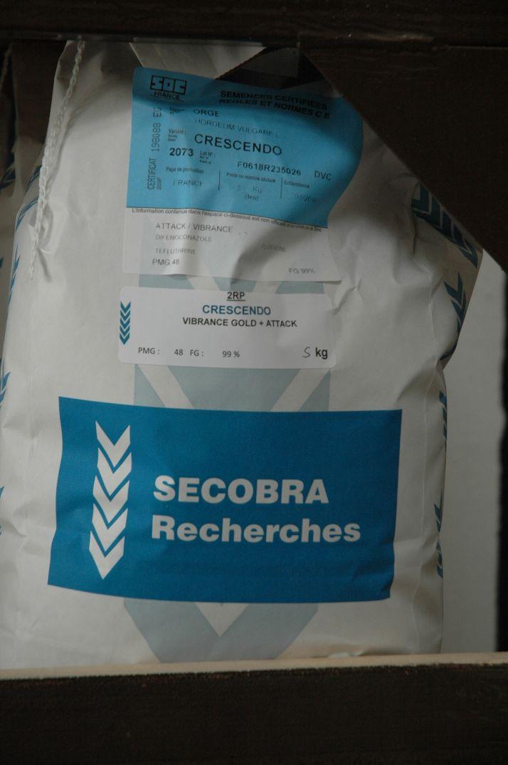 Secobra Recherches est leader en sélection d'orge d'hiver. © Secobra recherches