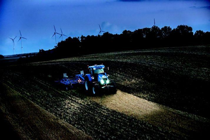 Les T7 passent au HD chez New Holland. Photo: New Holland