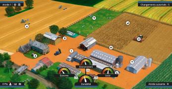 Vue du jeu sur l'agroécologie Segae