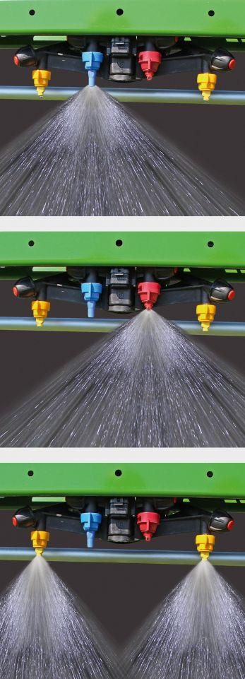 HeightSelect : la hauteur de rampe automatique couplée aux buses