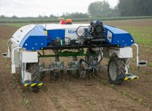 robot désherbage betteraves Delplanque- Crédit: Willy Deschamps_Pixel