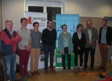 Nuffield 2017, les candidats à la bourse 2017