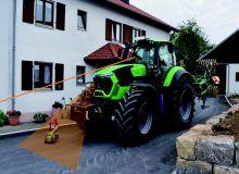 Deutz-Fahr sécurise la conduite des tracteurs de fortes puissances. Photo: Deutz-Fahr