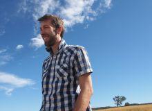 Victor Leforestier est spécialisé dans l'agriculture de « conservation » des sols. © Victor Leforestier