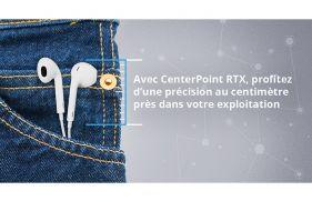 Avec Trimble CenterPoint RTX, profitez d'une précision au centimètre près dans votre champ
