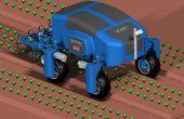 Carré lance un robot de binage qui analyse le sol. Photo : Carré