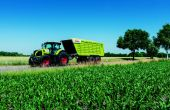 Les Cargos 700 pour le transport chez Claas. Photo: Claas