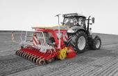 L'Aerosem de Pottinger capable de faire du Twin Row. Photo: Pottinger