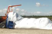 Stocker les céréales en silo bâche