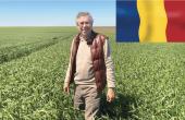 Vincent Thierry exploite 1500ha de grandes cultures en Roumanie.