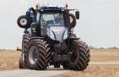 New Holland a eu une médaille d'argent pour son tracteur autonome. Photo: CNH