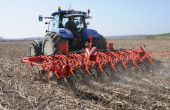 De 4 à 12 rangs pour le strip-till avec le Striger de Kuhn. Photo: Kuhn